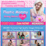 Plastic Mommy Hot Sex