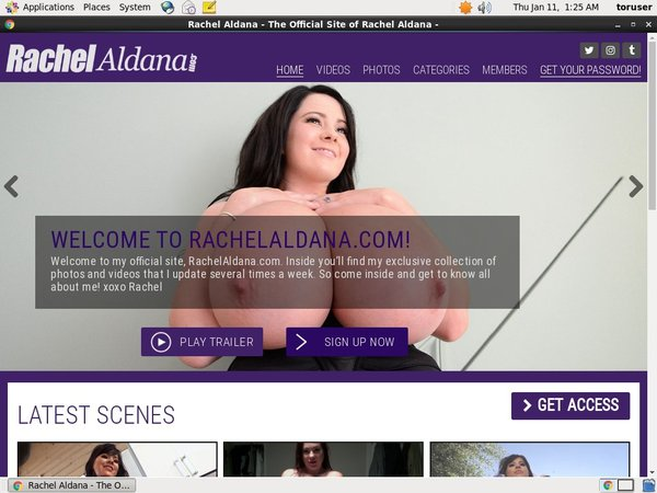 Rachel Aldana Coupon Deal