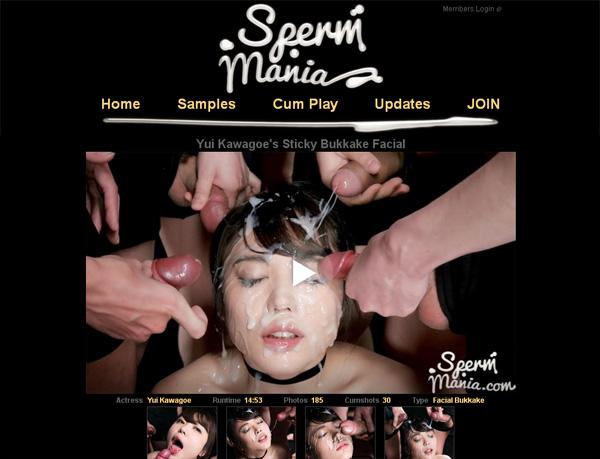 Sperm Mania Discount Membership