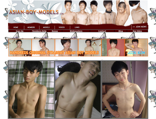 Asian Boy Models Trial Promo