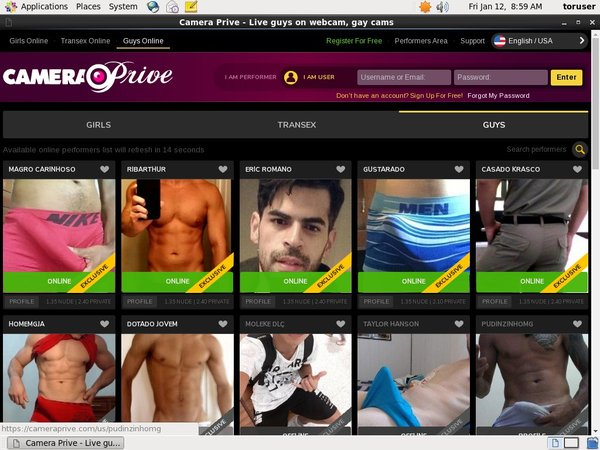 Camera Prive Gay Get Password