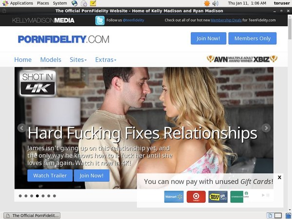 Free Logins For Porn Fidelity