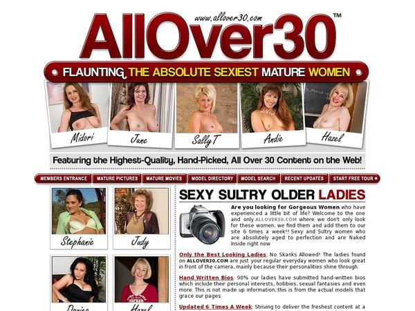 All Over 30 Original Free Trial Special