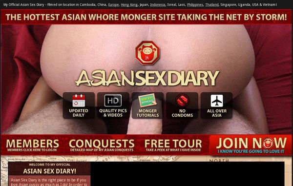 Asian Sex Diary Password