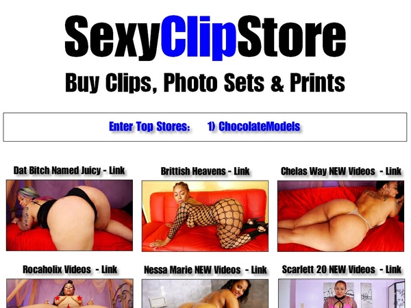 Sexy Clip Store Websites