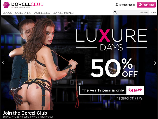 Sign Up Dorcel Club