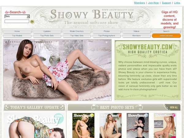 Trial Membership For Showybeauty