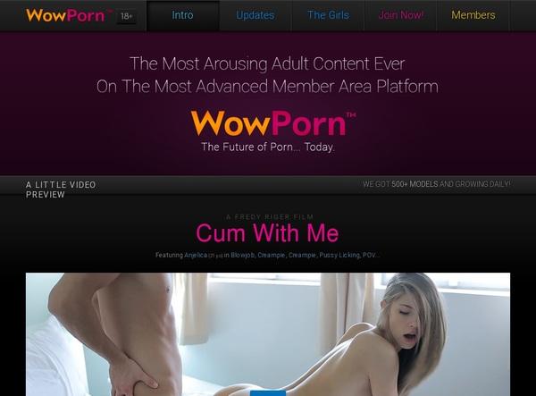 Wow Porn Webcams