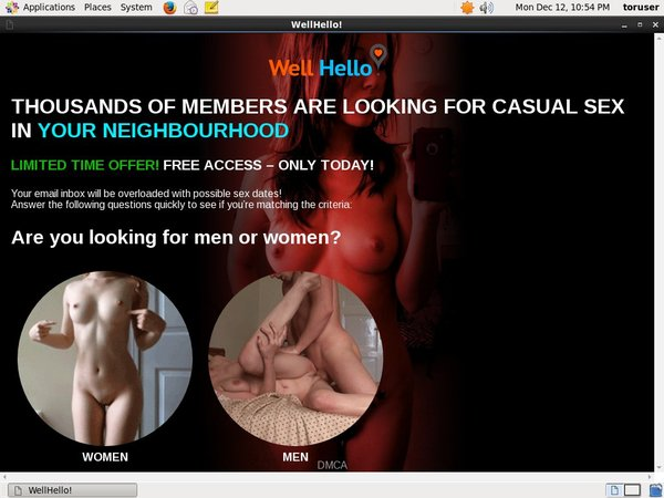 Well Hello Nude Pictures